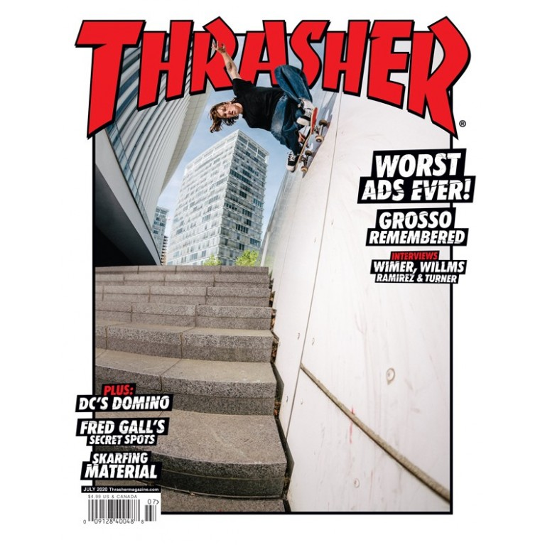 Журнал Thrasher Magazine July 2020