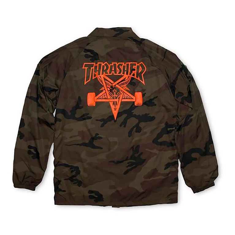 Куртка Thrasher Skategoat Coach Jacket Camo
