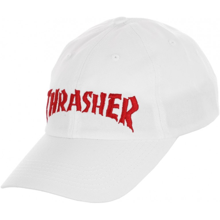 Кепка Thrasher Neckface Inver Old Timer Hat White