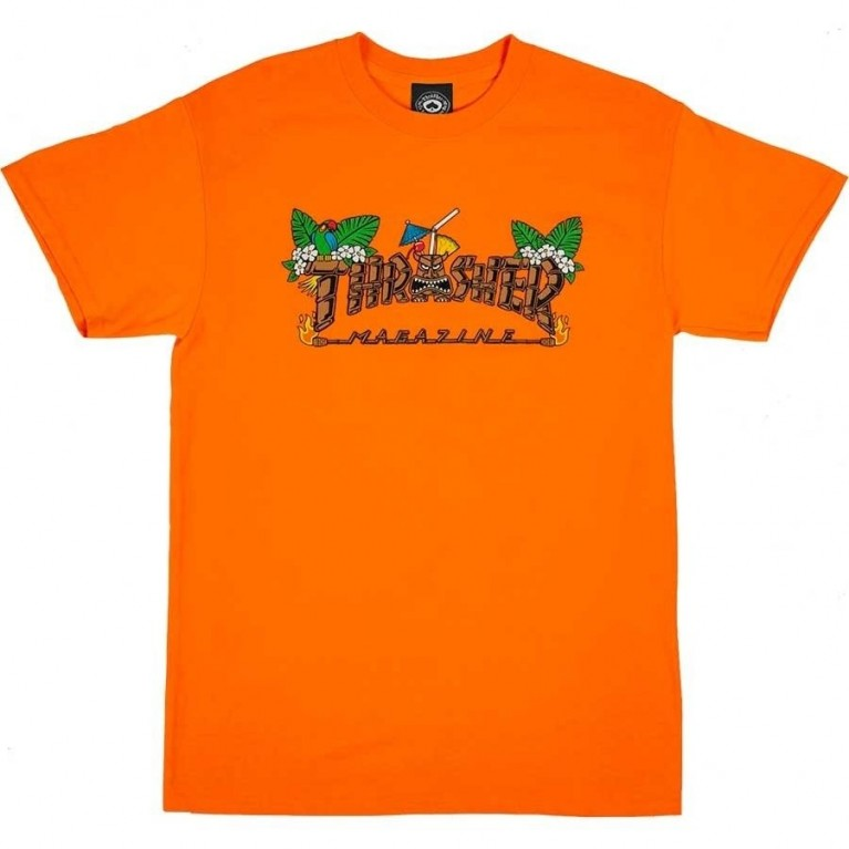 Футболка Thrasher Tiki Safety Orange
