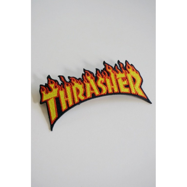 Нашивка Thrasher Flame Patch