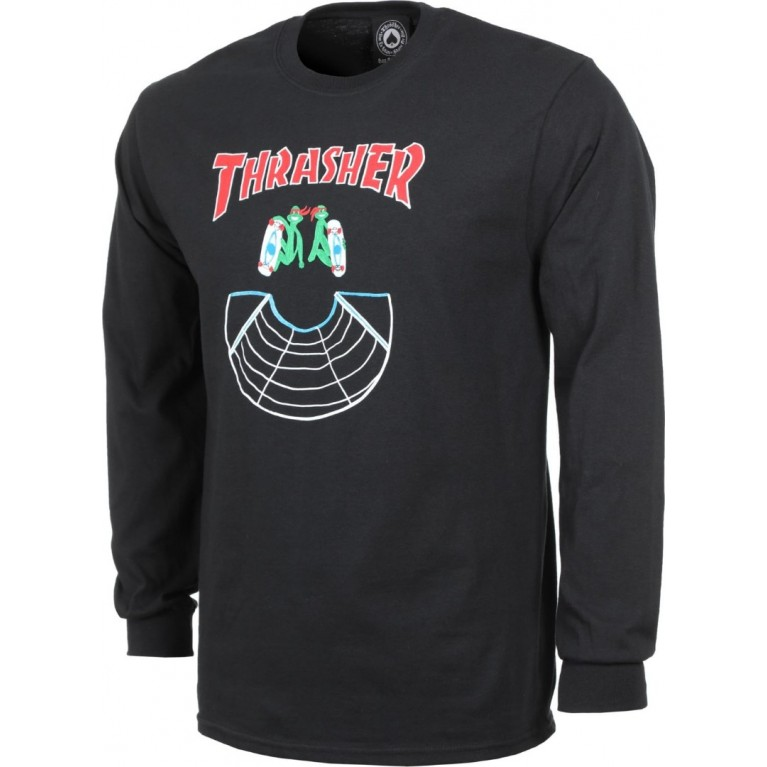 Лонгслив Thrasher Doubles L/S Black