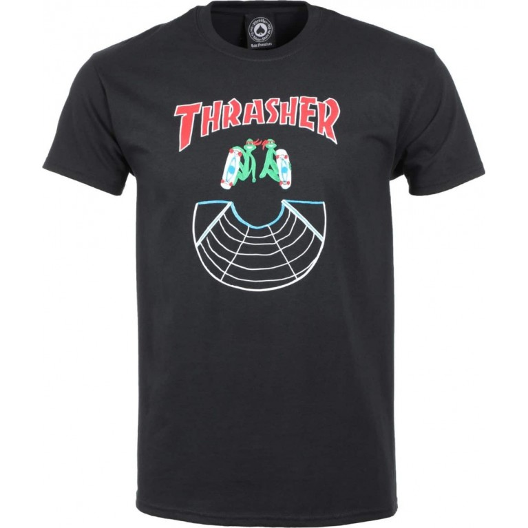 Футболка Thrasher Doubles Black