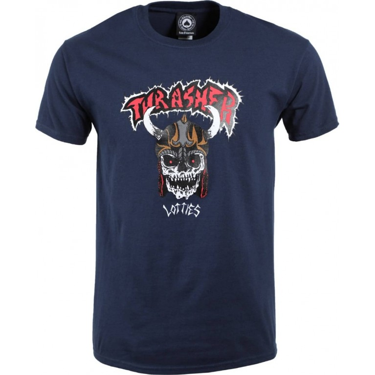 Футболка Thrasher Lotties Navy