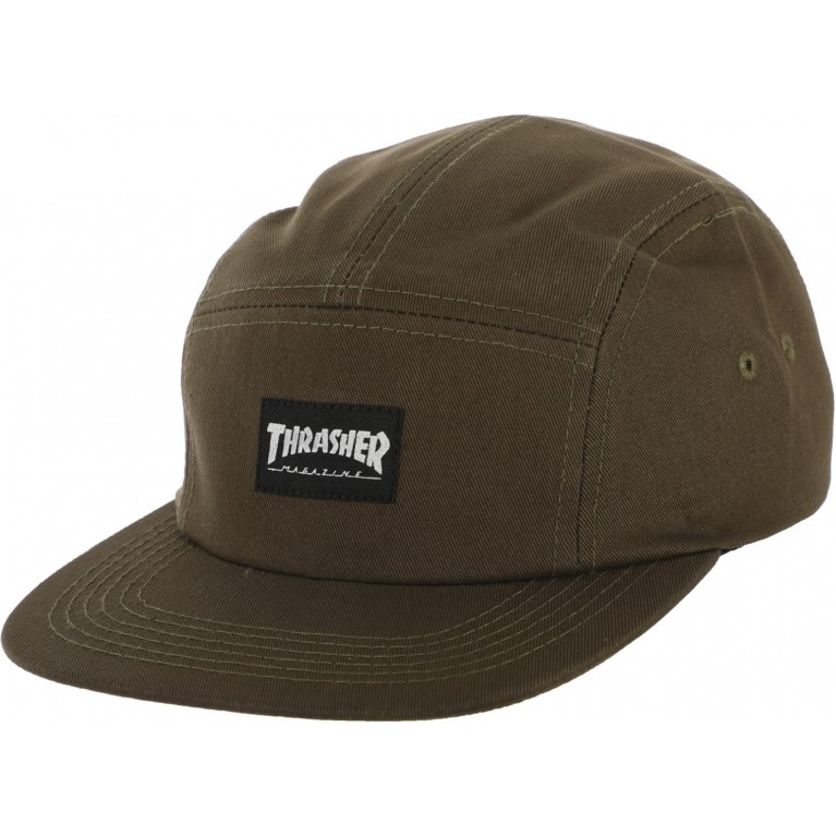 Кепка Thrasher 5 Panel Hat Army