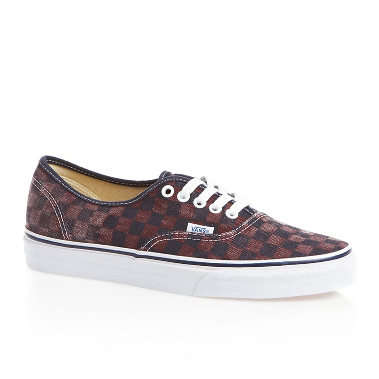 Кеды Vans Authentic Van Doren Checker Port Royale