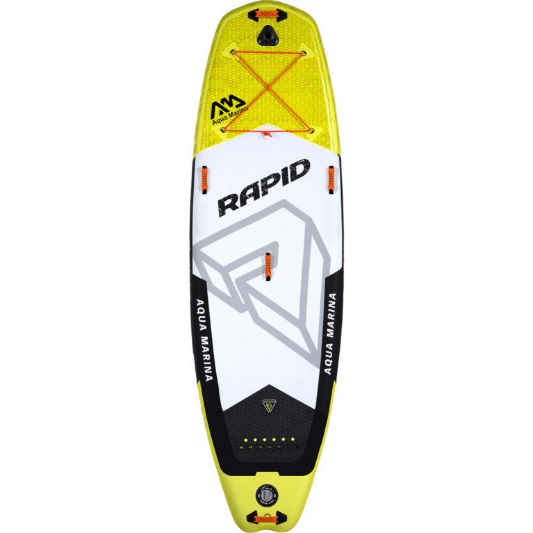 Сапборд надувной Aqua Marina RAPID RIVER Aquamarina Grey/Yellow S18