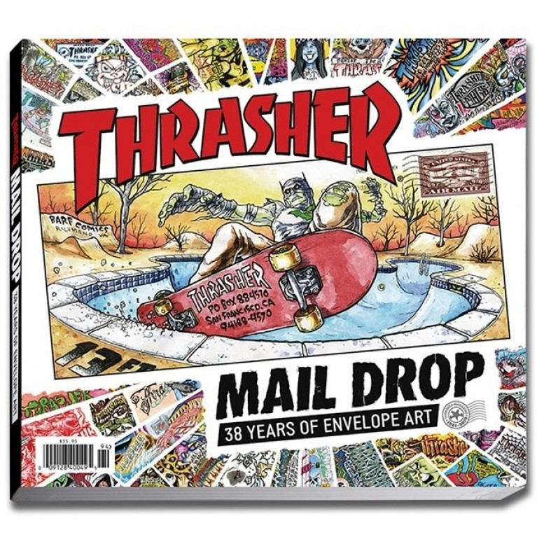 Книга Thrasher Mail Drop Book