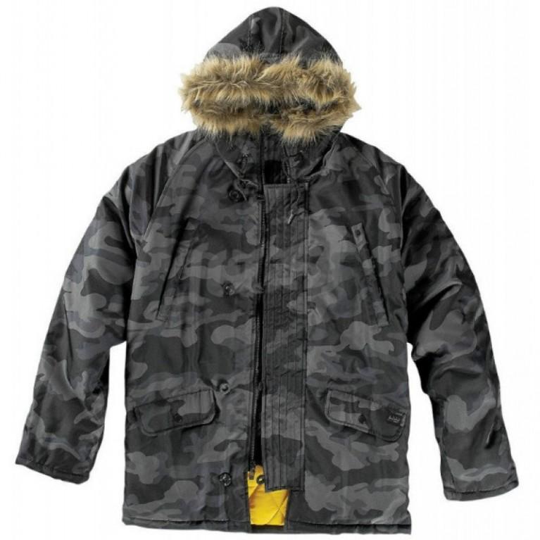 Куртка Krew Voyager Jacket Black
