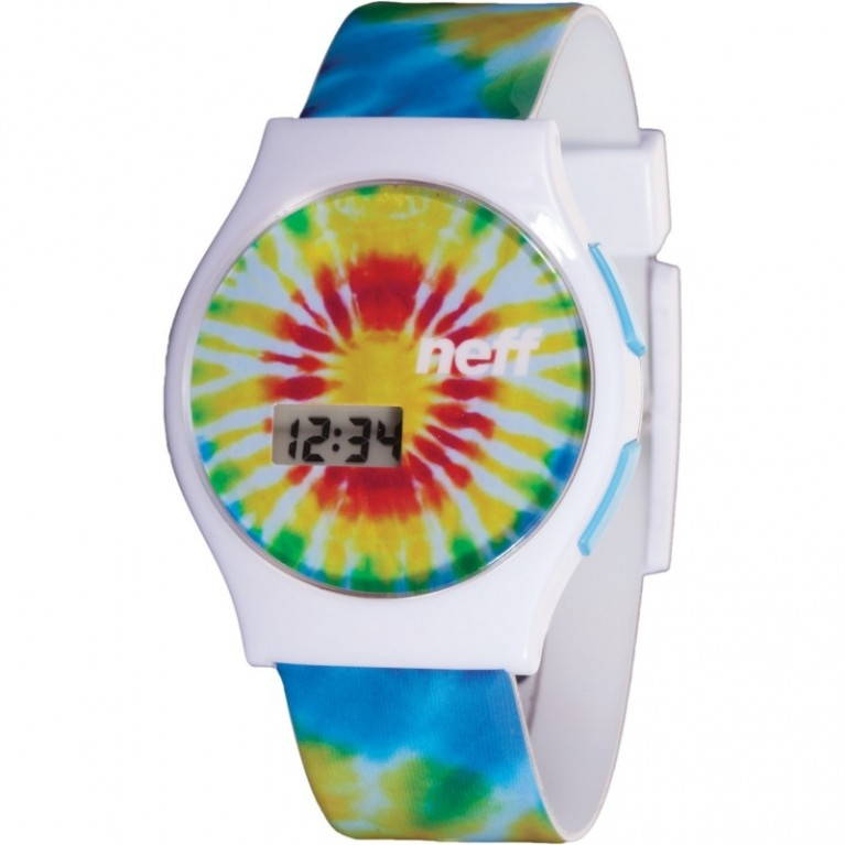 Часы Neff Slim Watch Tie Dye