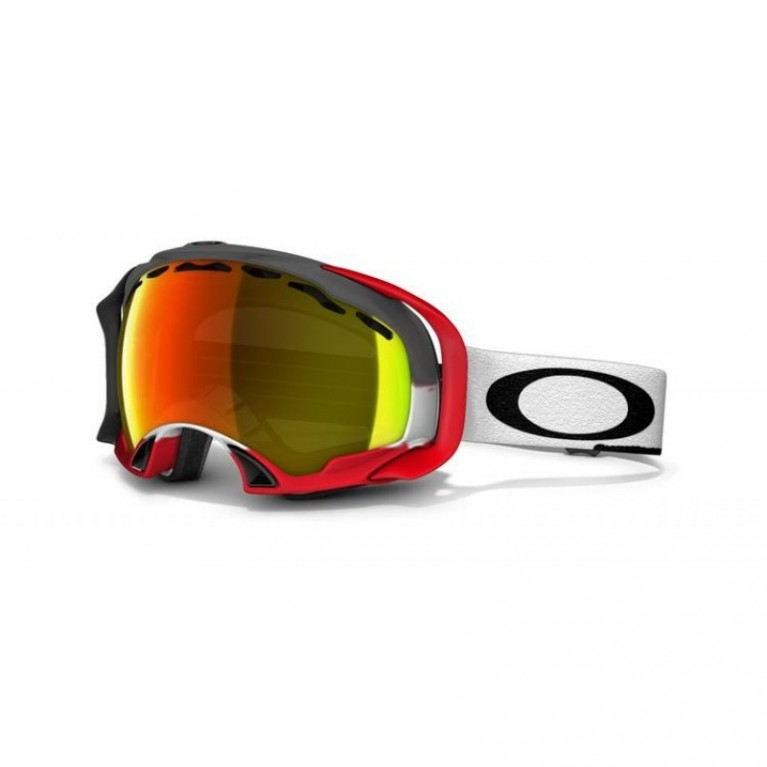 Маска Oakley Splice Simon Dumont Post Apocaliptic w/ Fire Iridium