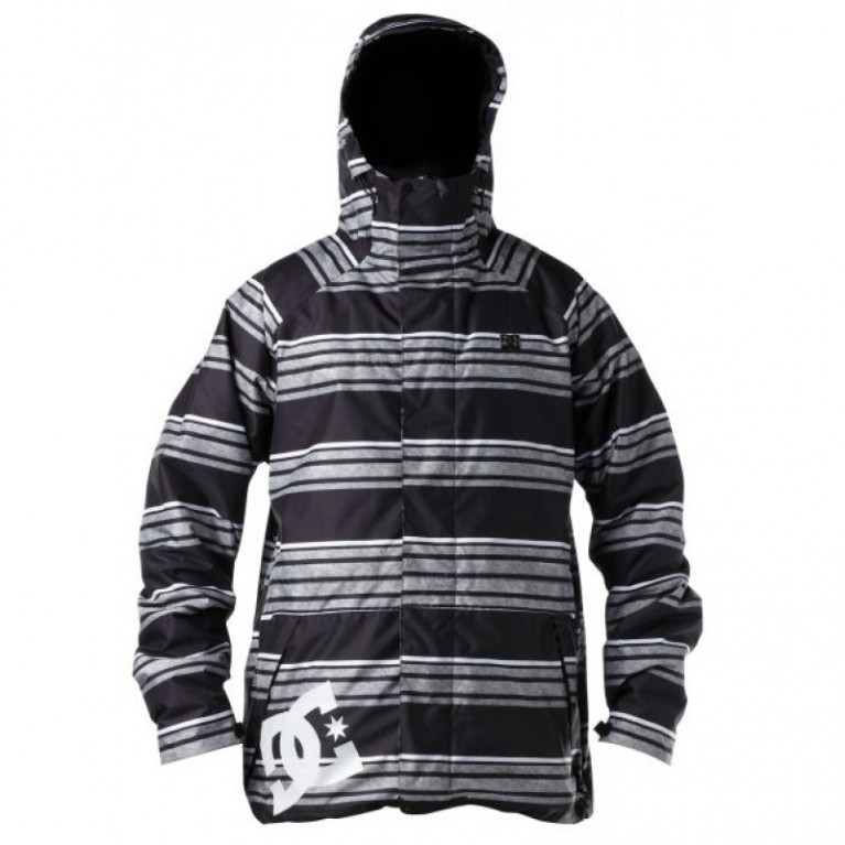 Куртка Dc Amo Jacket  Black Stripe