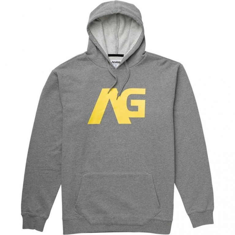 Толстовка Analog Agent Hoodie Grey Heather