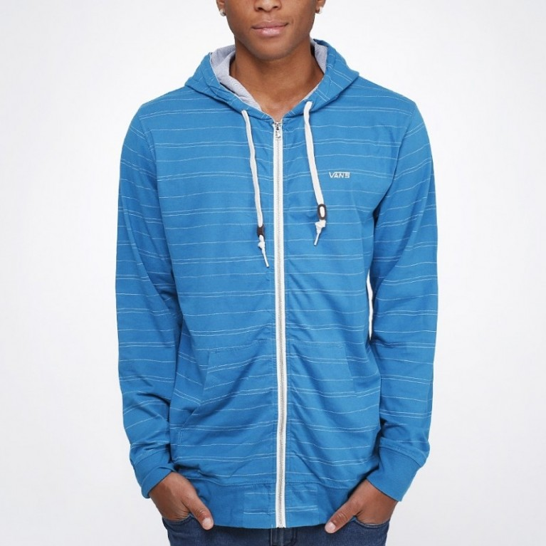 Толстовка Vans Shasta Zip-Hoodie Turkish Tile Blue