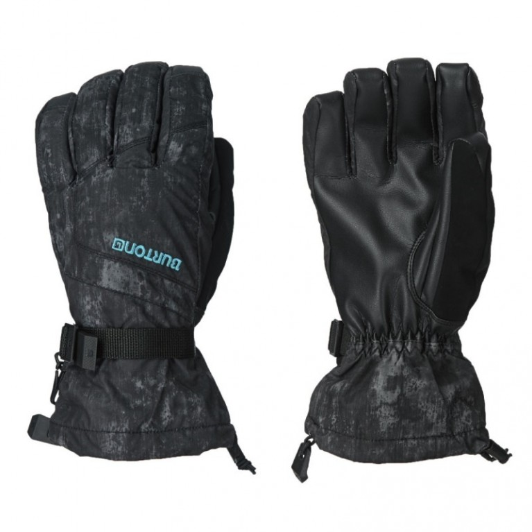 Перчатки Burton Profile Snowboard Gloves - True Black Washed Out