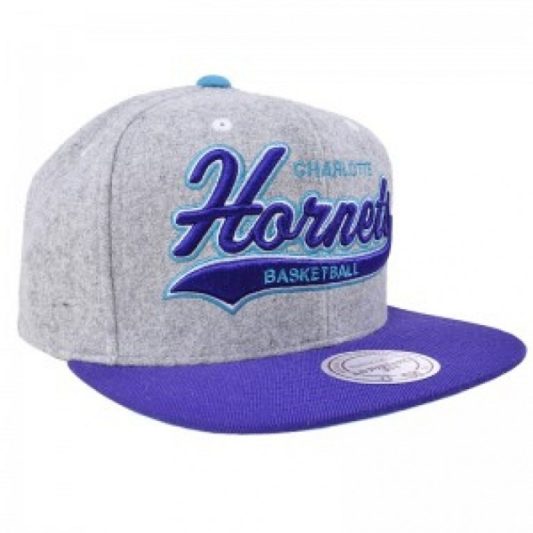 Кепка Mitchell & Ness NBA Hornets Team Logo Basketball