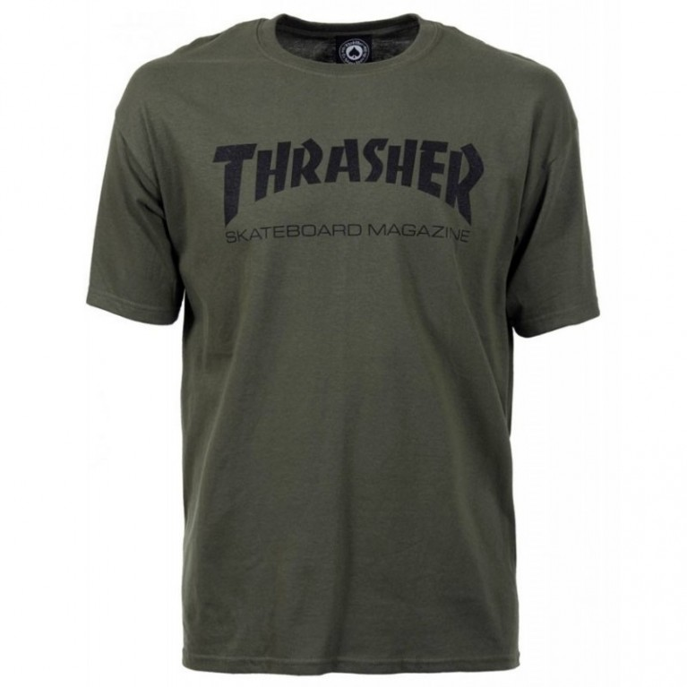 Футболка Thrasher Skate Mag T-Shirt Army Green