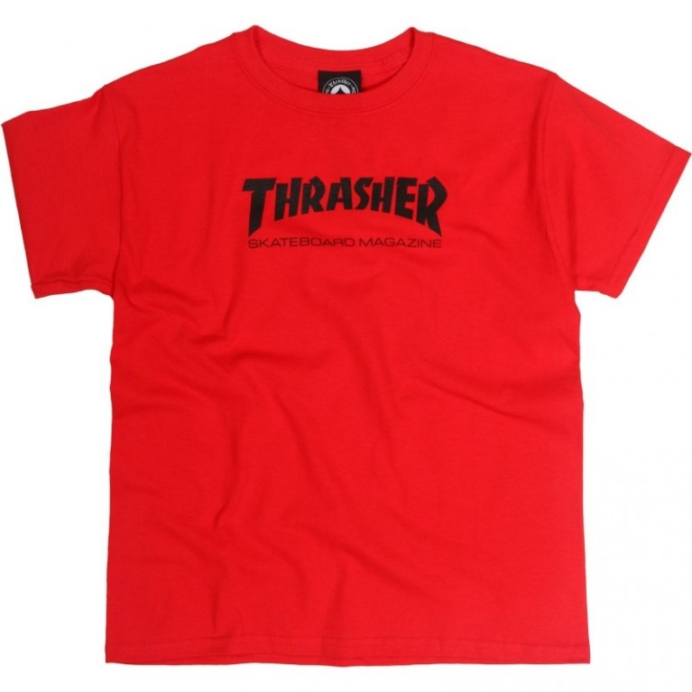 Футболка д Thrasher Toddler Skate Mag Red