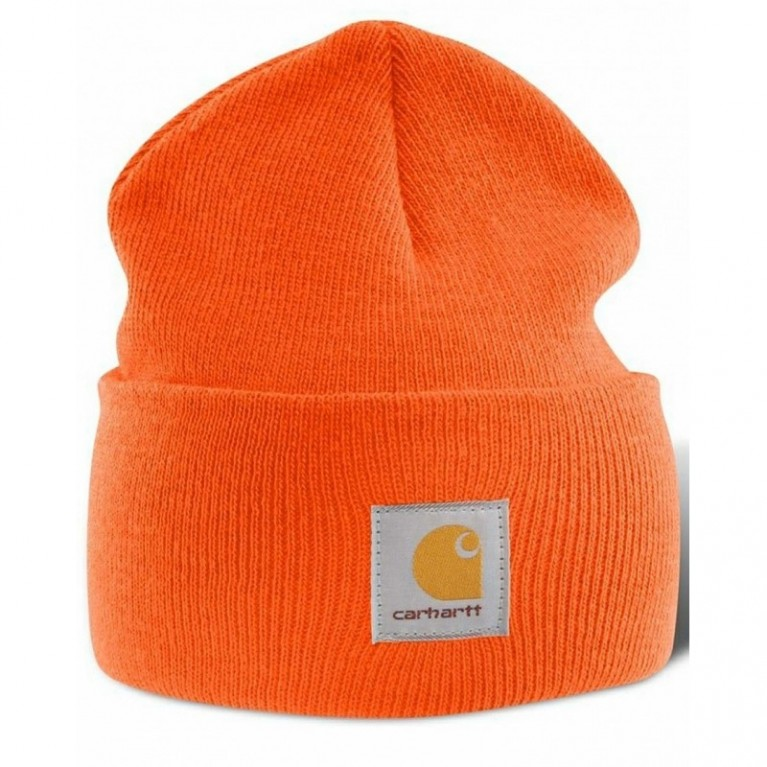 Шапка Carhartt ACRYLIC WATCH HAT orange