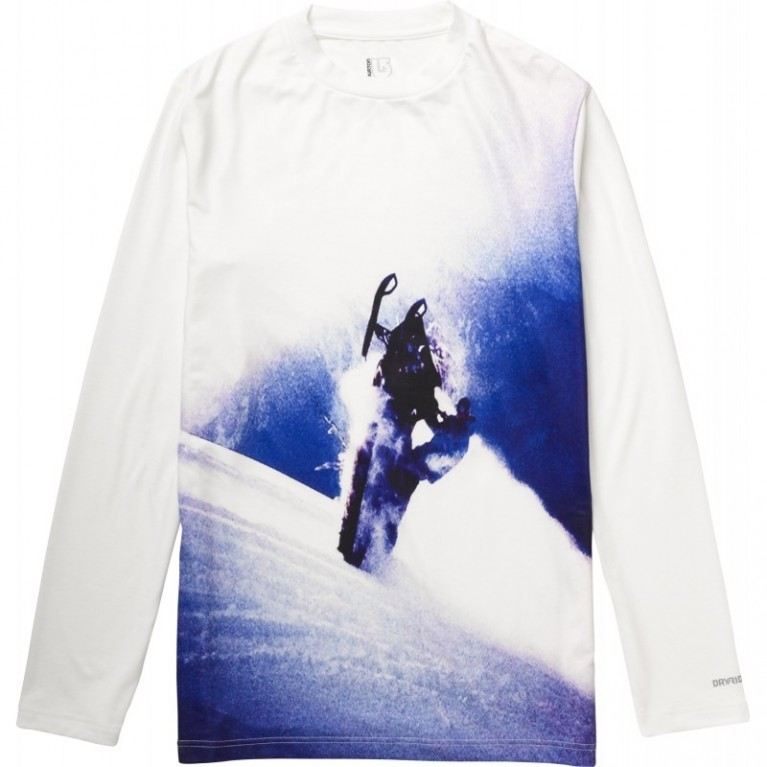 Burton Tech Tee Blotto Powder Wheelie