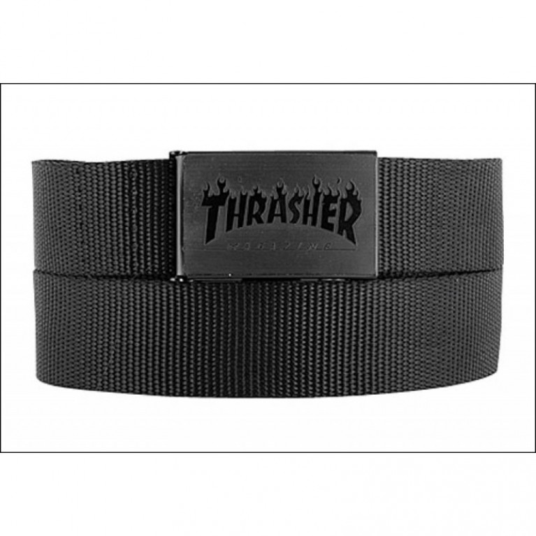 Ремень Thrasher Web Belt Black