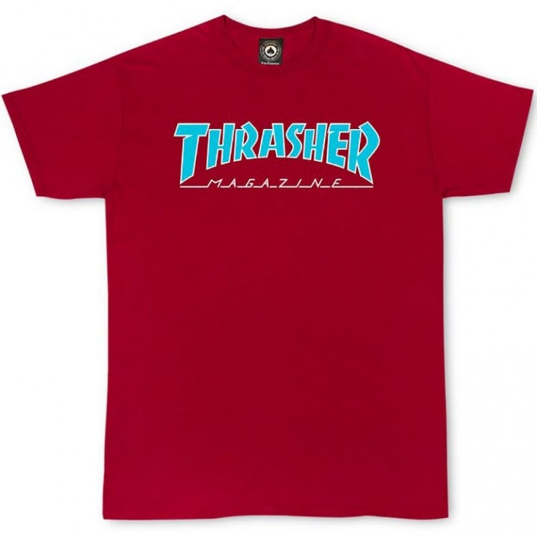 Футболка Thrasher Outlined Cardinal