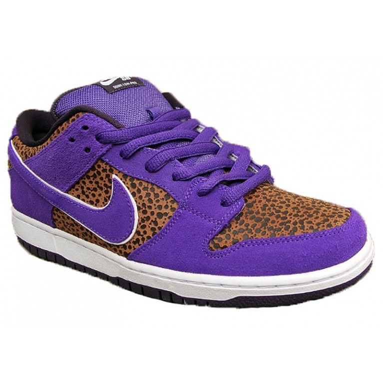 Кеды NIKE Dunk Low Bison/Varsity purple