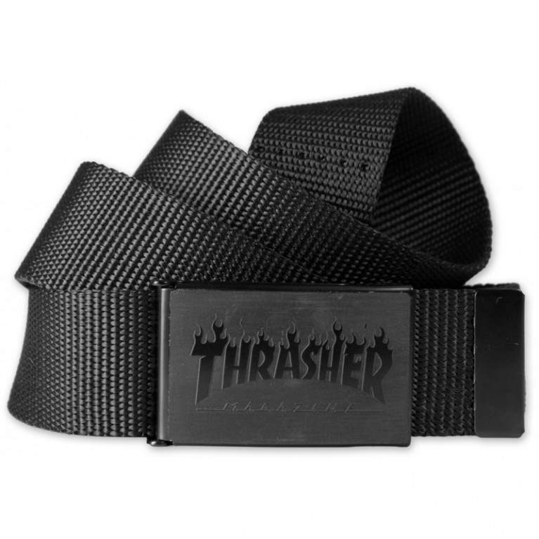 Ремень Thrasher Flame Belt