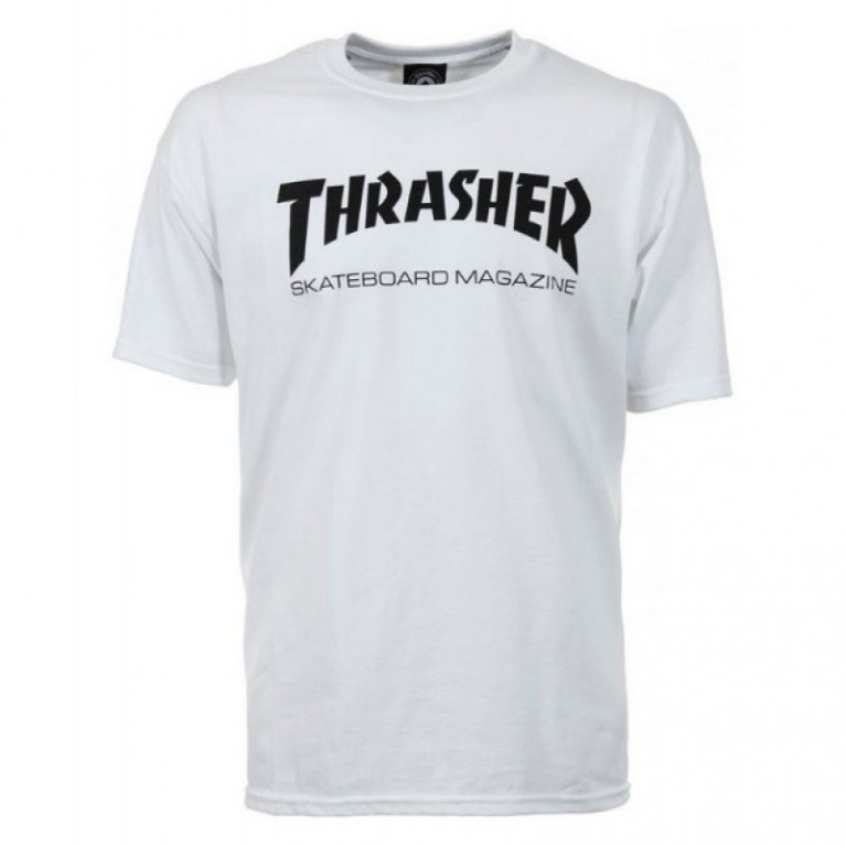 Футболка Thrasher Skate Mag T-Shirt White