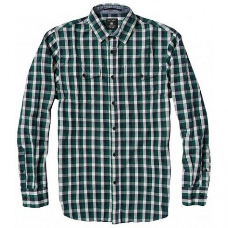 Рубашка Globe Attfield Shirt Fern Green