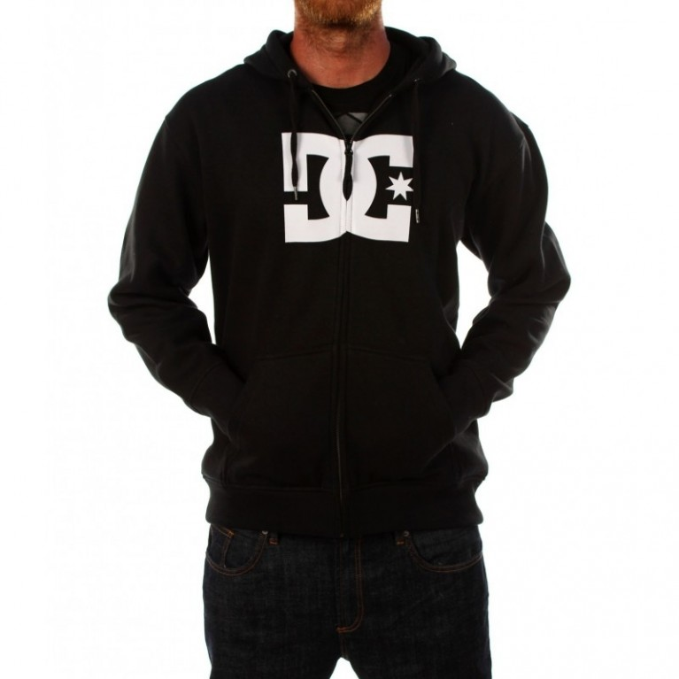 Толстовка DC Solostar Hooded Fullzip Black