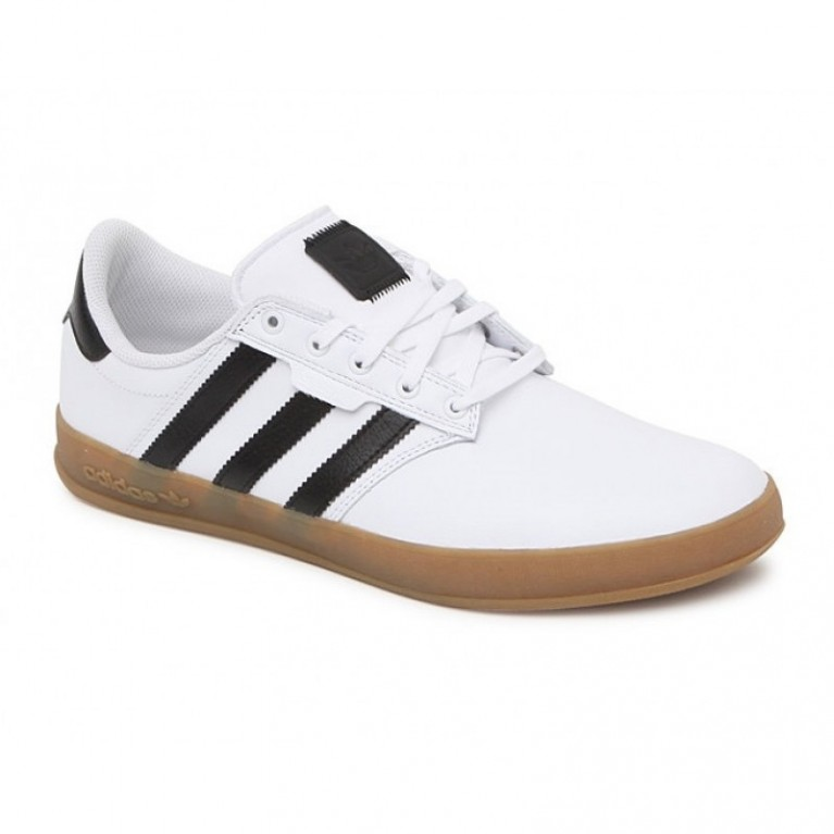 Кеды Adidas Seeley Cup Shoes - Mens Shoes - White Gum