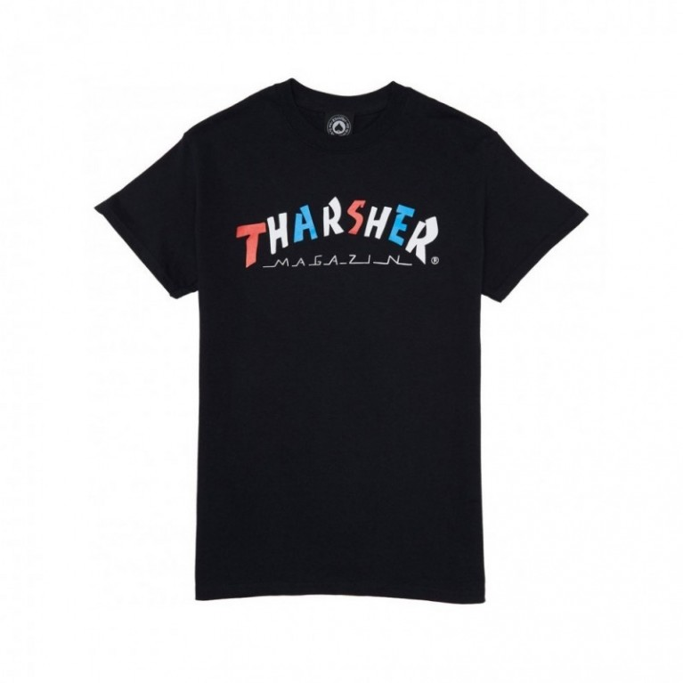 Футболка Thrasher Knock Off T-Shirt Black