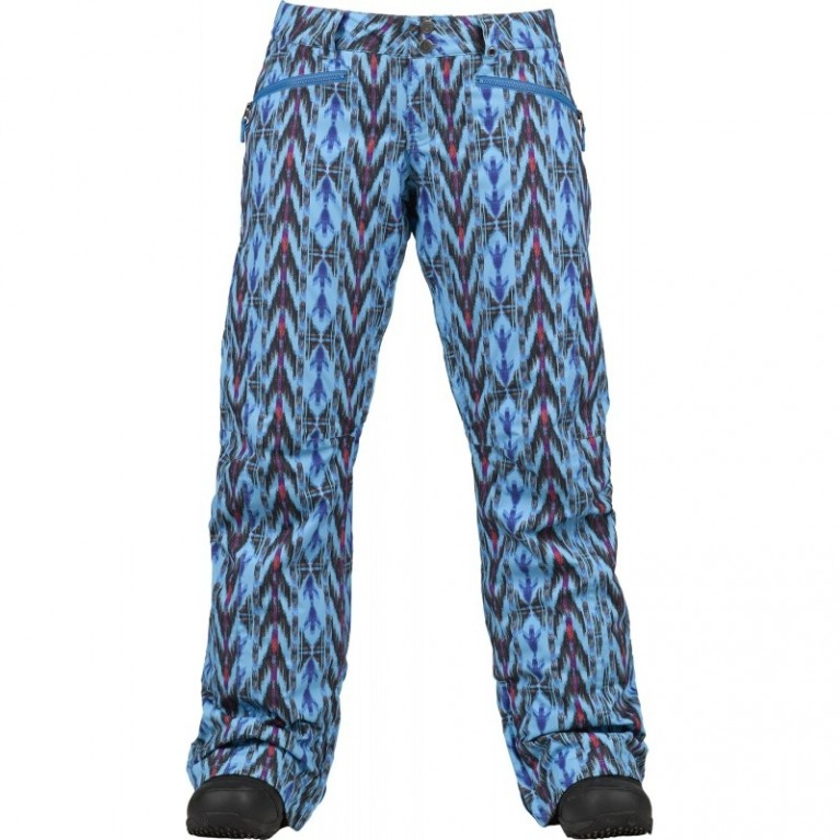 Штаны Burton Society Pants Blue Ray / Noveau Neon