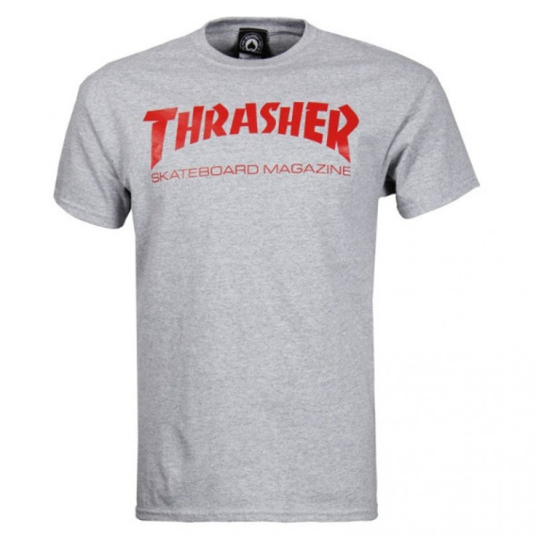 Футболка Thrasher Skate Mag T-Shirt Grey