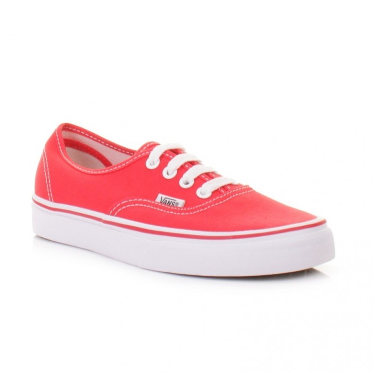 Кеды Vans Authentic Hibiscus Red