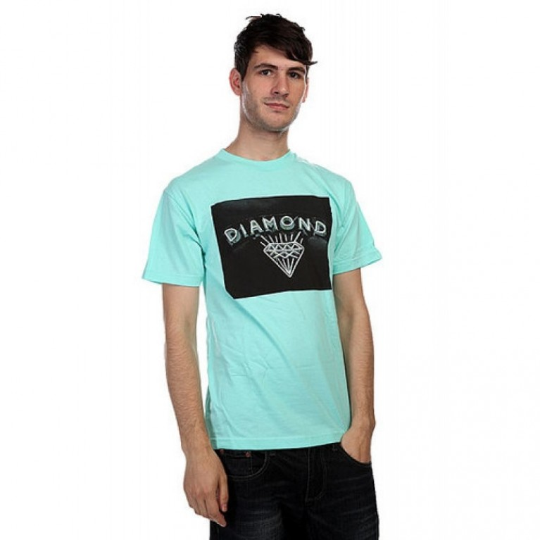 Футболка Diamond Jewlers Row Tee diamond blue