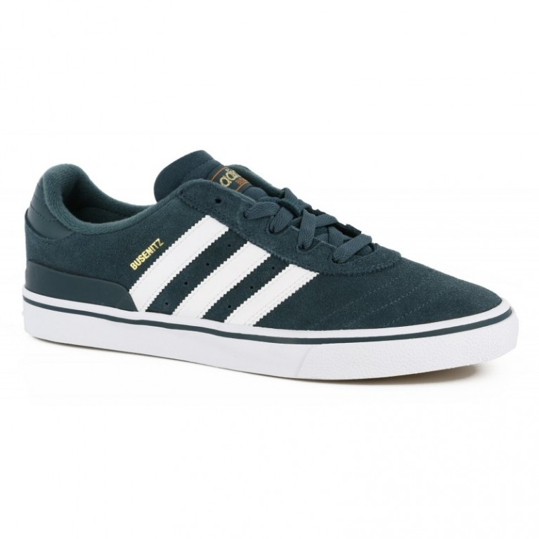 Кеды Adidas Busenitz Vulc Midnight/White
