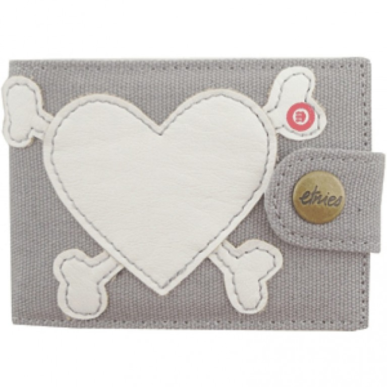 Кошелек Etnies Coltrane Women's Wallet (Grey)