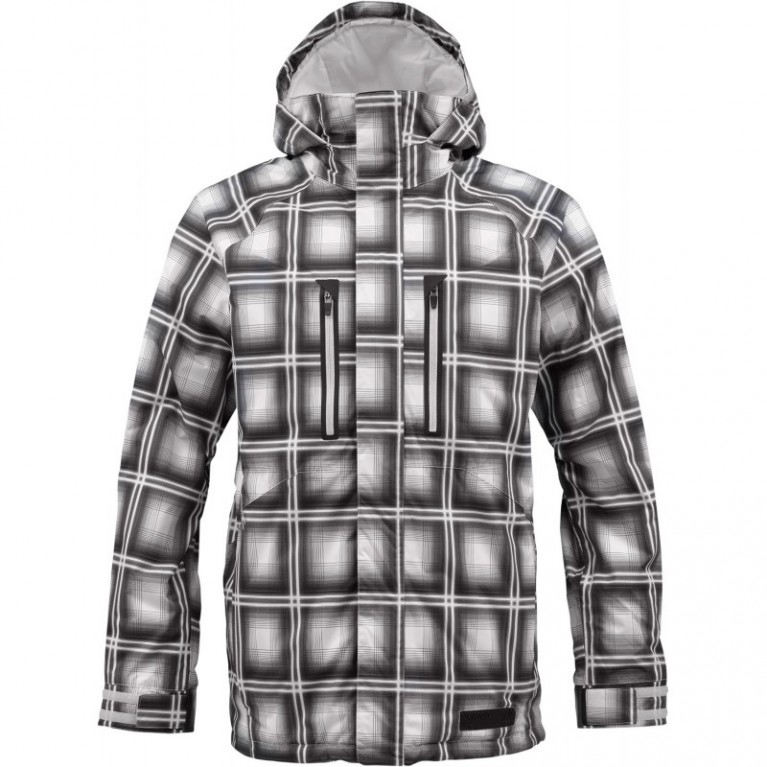 Куртка Burton Checkpoint Jacket Graph Ghost Plaid