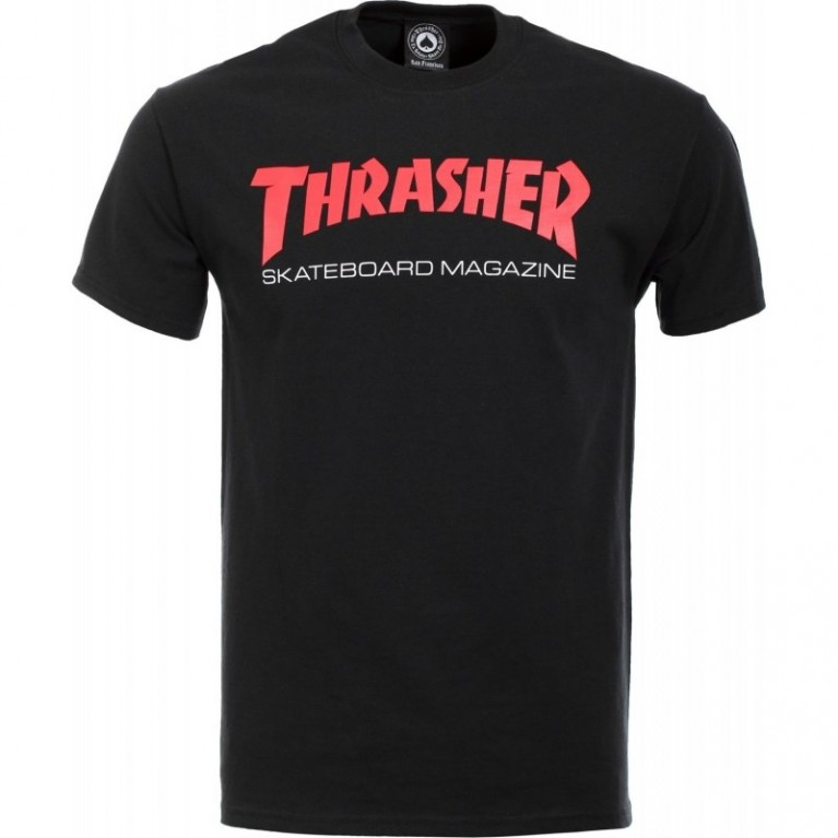 Футболка Thrasher Two-Tone Skate Mag S/S Black