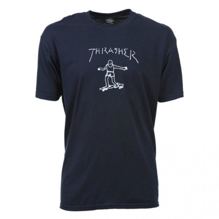 Футболка Thrasher Gonz T-Shirt Navy