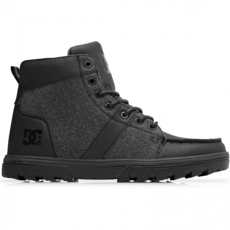 Ботинки DC Shoes Woodland SE BLAK/GREY/BLACK