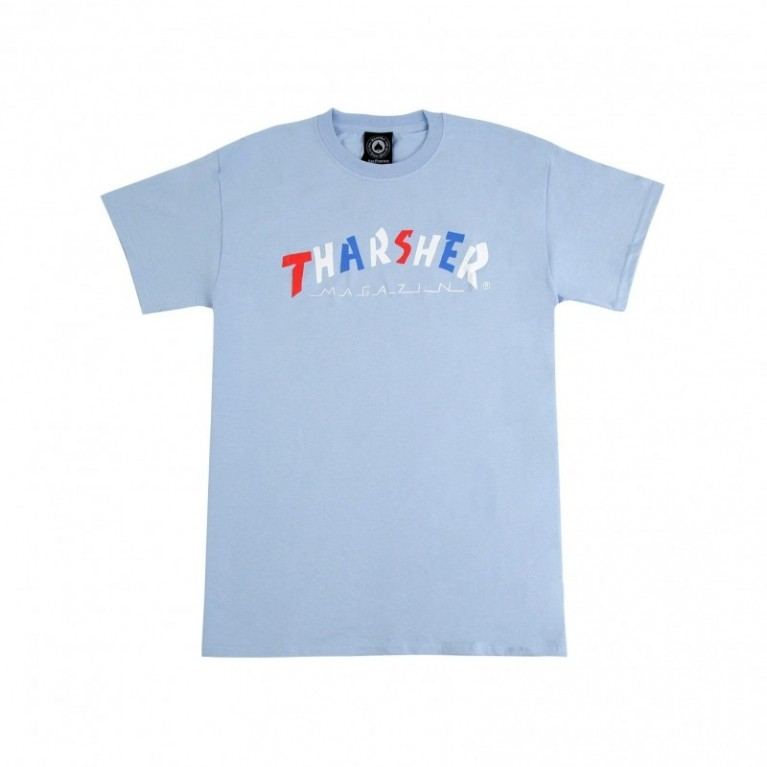 Футболка Thrasher Knock Off T-Shirt Light Blue