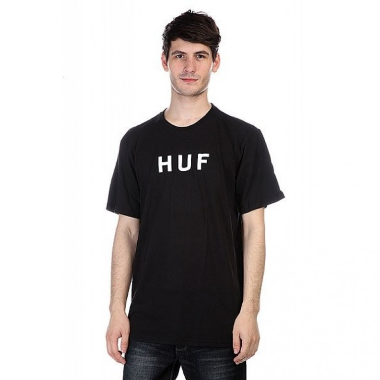 Футболка Huf Original Logo Tee Black