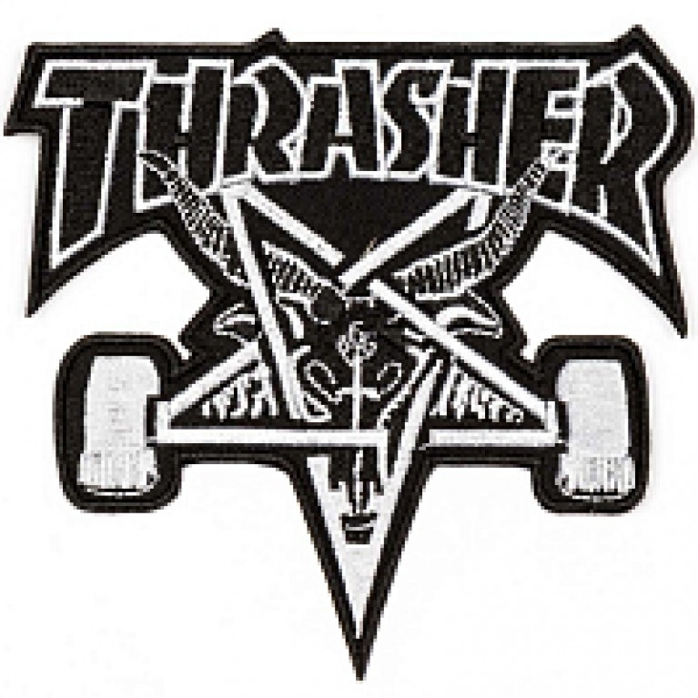 Нашивка Thrasher Sk8 Goat Patch