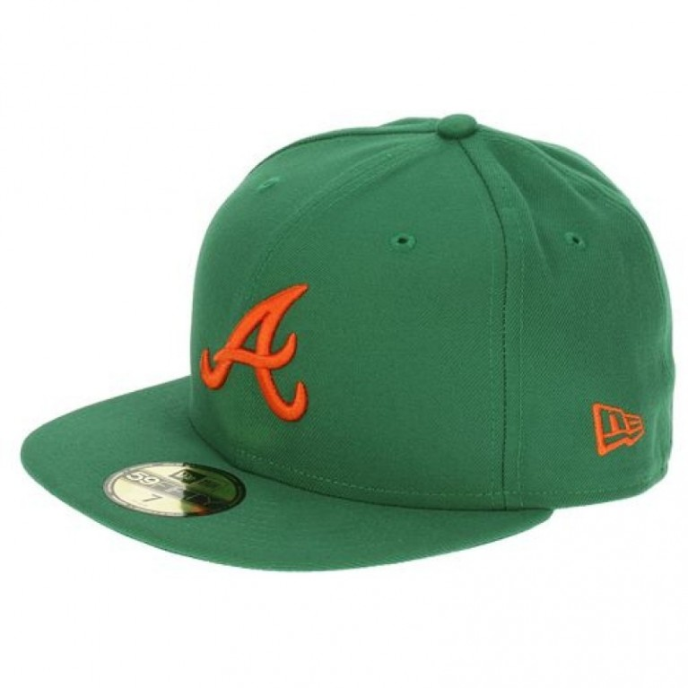 Кепка New Era MLB Atlanta Braves (green)