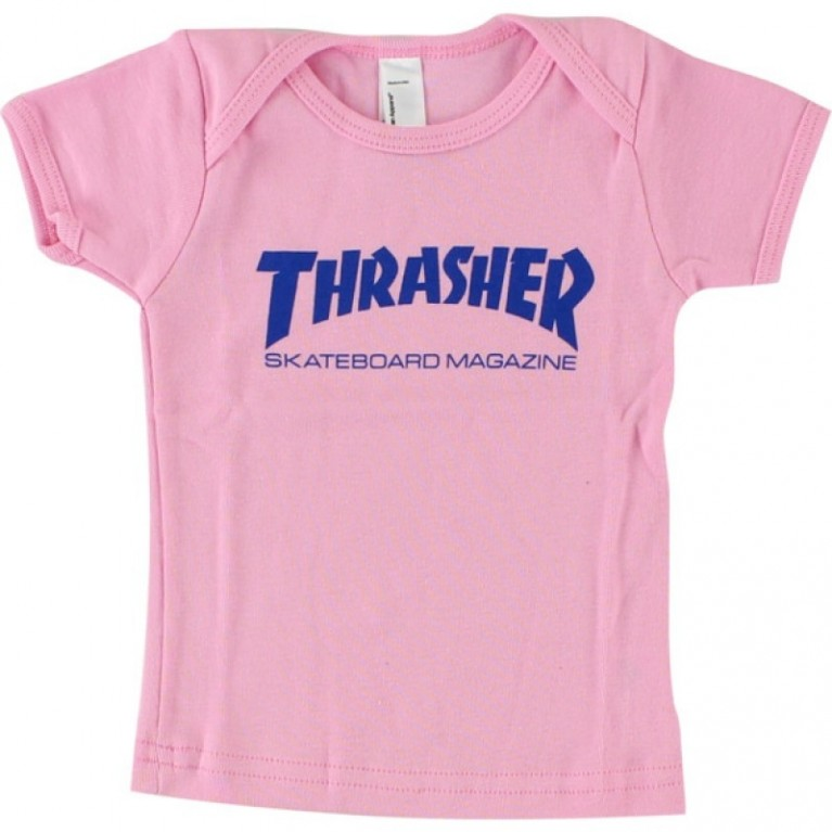 Футболка д Thrasher Infant Skate Mag Pink (12-16 месяцев)