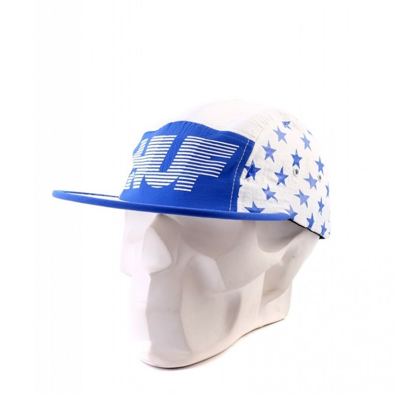 Кепка Huf  Hell Track volley white/blue