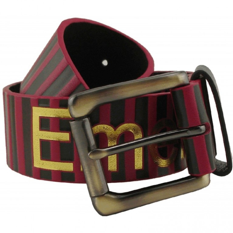 Ремень Emerica Frequency Leather Belt (Red)